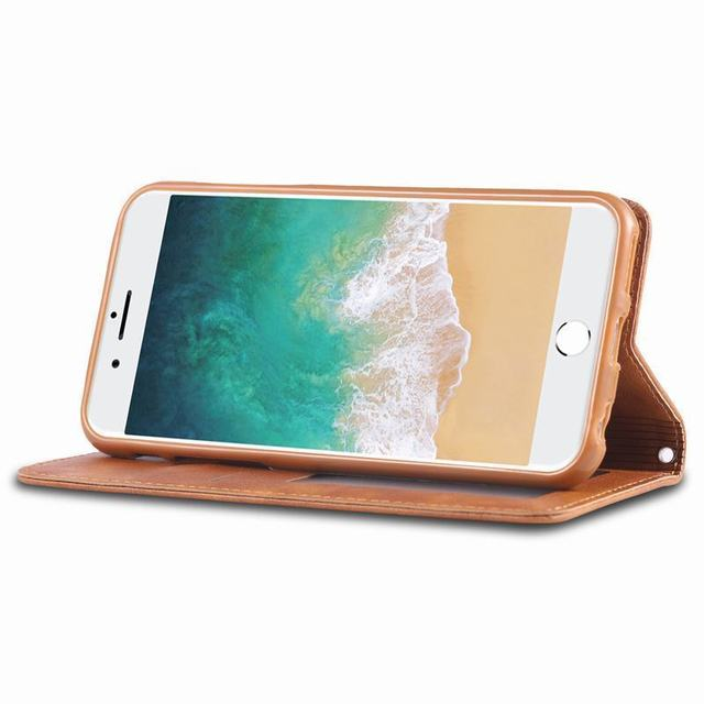 Flip Case For iphone 6 6S Plus Luxury Case Cover Vintage With Card Slot Magnetic Leather Phone Bag For IPHONE 6plus 6splus Coque