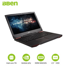 Bben G17 17.3″ pro windows 10 Gaming laptop NVIDIA GTX1060 GDDR5 Computer intel 7th gen i7-7700HQ  DDR4 8GB/16GB/32GB RAM M.2 SS