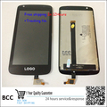 100% nuevo original para htc desire 326 326g d326 digitalizador lcd asamblea display + touch screen panel de prueba ok + pista