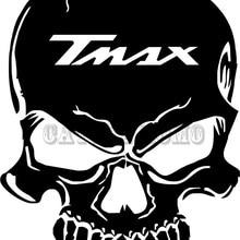 Мотоцикл Танк череп надписи наклейки для TMAX 2012 2013 бак наклейки 7 видов цветов