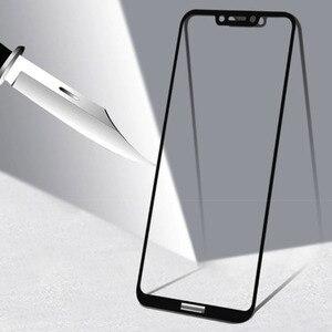 Image 2 - זכוכית עבור Huawei Honor לשחק מזג זכוכית מגן בטיחות סרט על לכבוד לשחק מלא כיסוי מסך מגן