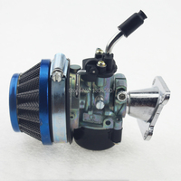 High Performance Racing Carb Carburetor Air Filter Assembly 50cc 60cc 66cc 80cc 2 Stroke Gas Engine Motorized Bike Bicycle