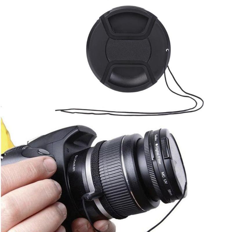 2 X Nikon LC-52 Snap on Front Lens Cap
