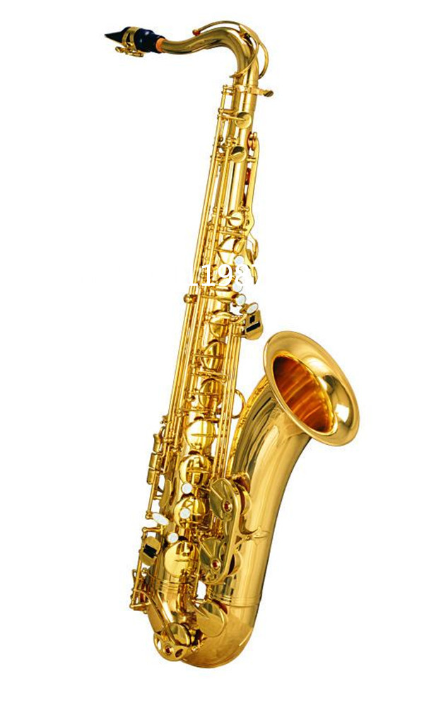 High Quality Tenor Saxophone France Henri Selmer B Musical Instruments  80 Series II Brass Gold Surface Saxophone