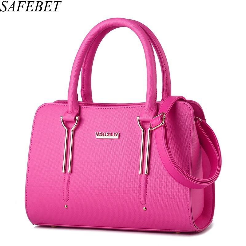 SAFEBET Brand 2017 Women Bag Luxury Messenger Bags Female Designer Handbags High Quality PU Leather Shoulder bags Messenger Bags