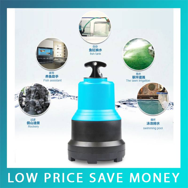Big Power Electric Submersible Pump Waterfall 220V Plastic Centrifugal Submersible Pump For Garden 220v submersible garden water pump 1800w electric water pump submersible pump low pipe