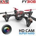 Envío gratis Venta Superior Original X6 FY310B Drones 6-axis 4CH 2.4G RC Quadcopter Cámara HD Helicóptero VS Hubsan X4 H107c H107L