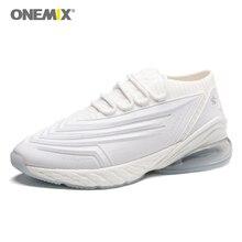 ONEMIX Man Cross-Country Walking Track Trainer Breathable Sport Sneakers Men Outdoor Running Shoes White Jogging Sneakers Sales цена в Москве и Питере