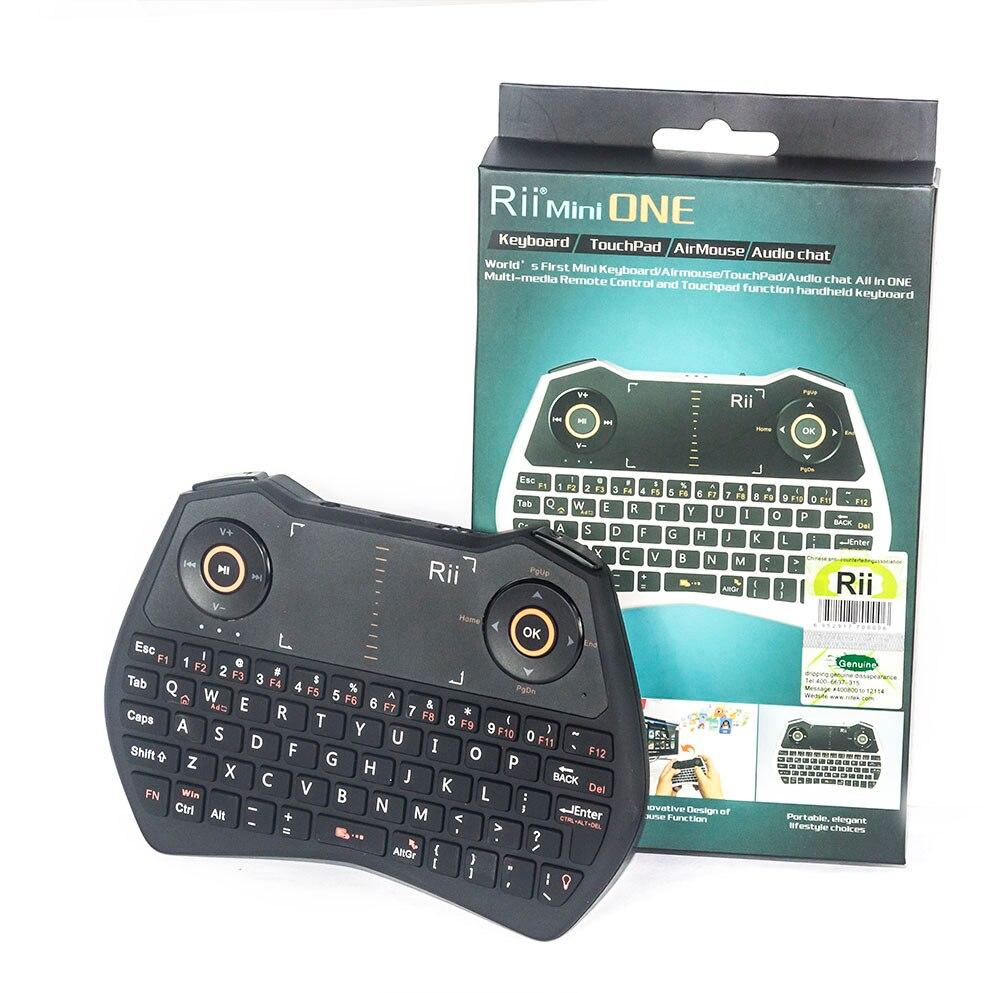 10 Pcs Rii Mini i28 Russian English Wireless <font><b>Air</b></font> <font><b>mouse</b></font> Backlit Audio Touchpad Combo Gaming Keyboard for HTPC Android TV Box PC