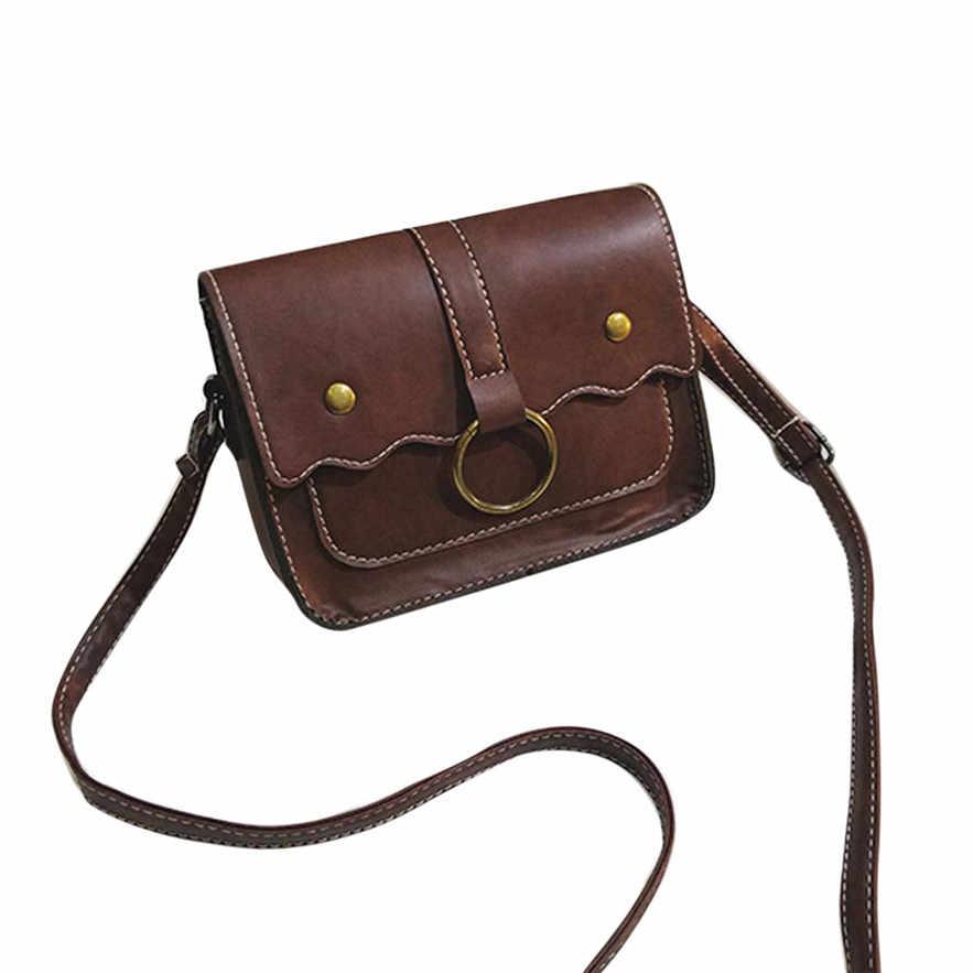 OCARDIAN bolsas модная женская кожаная сумка через плечо сумка-мессенджер для телефона Монета Сумка из Китая Повседневная #30 2018 подарок