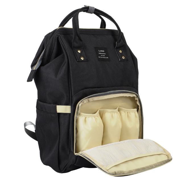 LAND Large Capacity Diaper Bag Mommy Maternity Baby Nappy ...