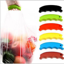 SALES Durable Shopping Handle Carry Bag Helper Tool Hanging Relaxed Carry Food Machine Random Color