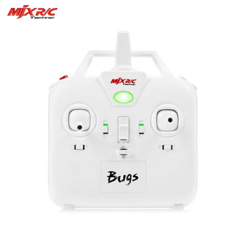 Original MJX Bugs 3 RC Quadcopter Spare Parts Transmitter Remote Controller Control For Camera Drone Accessories Accs радиоуправляемый инверторный квадрокоптер mjx x904 rtf 2 4g x904 mjx
