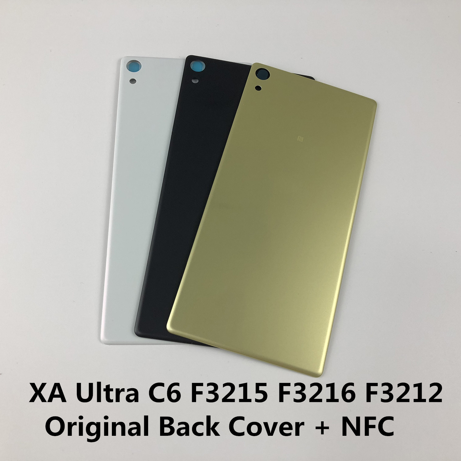Original For SONY XPERIA XA Ultra C6 F3215 F3216 F3212 Housing Battery Back Cover + NFC