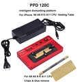 Placa calefactora dedicada PPD 120C para iPhone A8/A9/A10/A11 CPU NND plataforma desoldadora de demolición para iPhone6/6 S/6 P/7/7 P/8 P