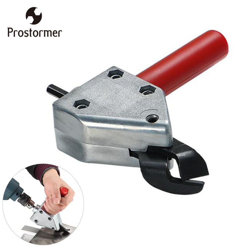 Prostormer Metal Cutting Sheet Saw Cutter Tool Electric Drill Scissors Saw Cutter Power Tool Scissors D1013 цена