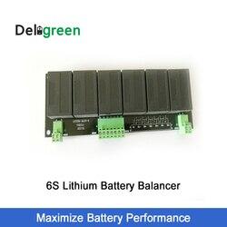 Balanceador ativo lifepo4 lipo de qnbbm 6 s para 18 v 24 v lto lincm li-ion bateria banco painel solar