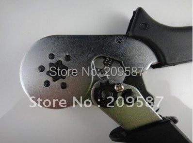HSC8 6-6 мини саморегулирующиеся обжимные плоскогубцы AWG 23-10 0,25-6mm2