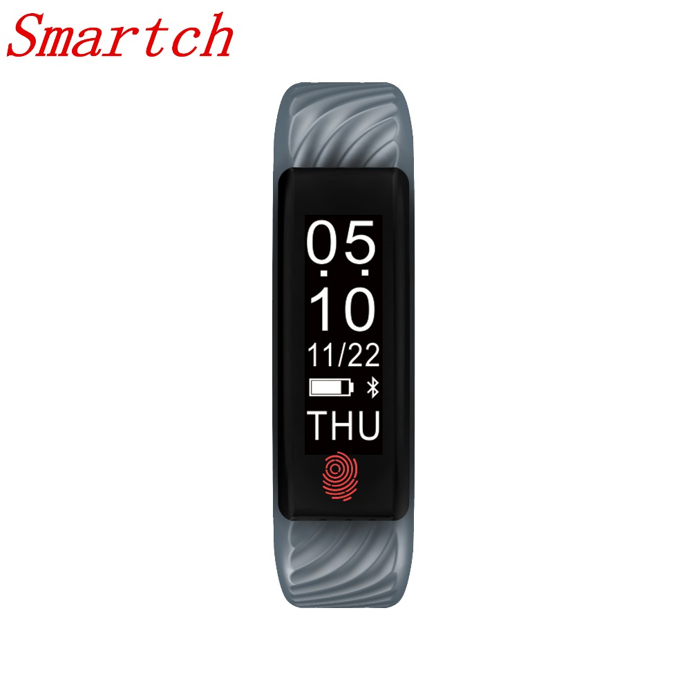 Smartch W810 Smart Bracelet Heart Rate monitor Fitness Activity Tracker Smart band for iOS Android Smartphone