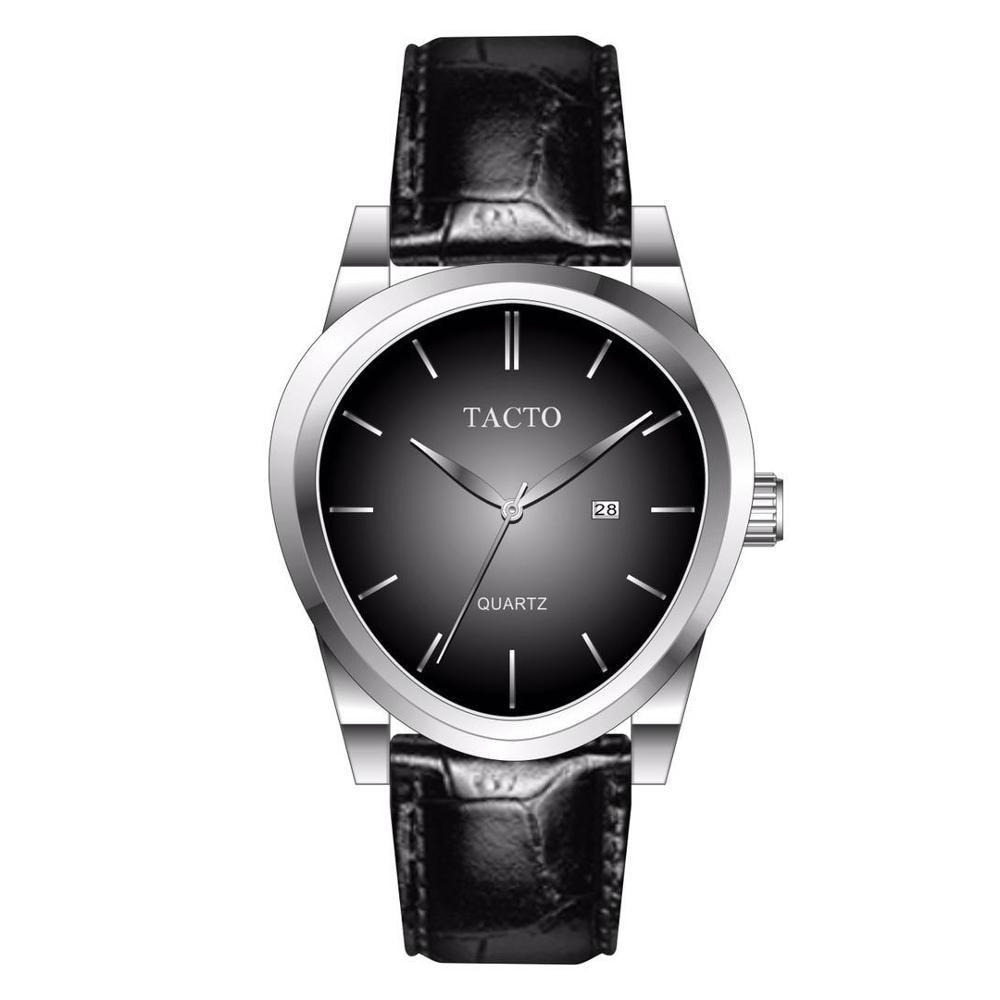 2019 Top brand sport watch Ar Mens Watches Quartz Wristwatch Leather Band Fashion Male Clock Waterproof