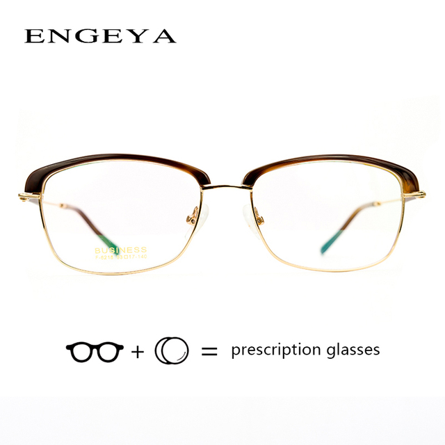 3a0ee99e0bb9 Alloy Clear Prescription Eyewear Women Fashion Computer Myopia Degree Eye  Glasses Men Thom Browne  F-6218