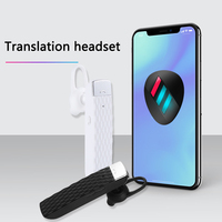 33 Languages Universal Mobile Phone Wireless Smart Headset Business Translation Bluetooth Earphone Durable Mini Electronic