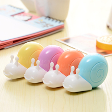 Stationery Corrector School Erasers Office-Supply Student Cute Kawaii Gift Snails Kids