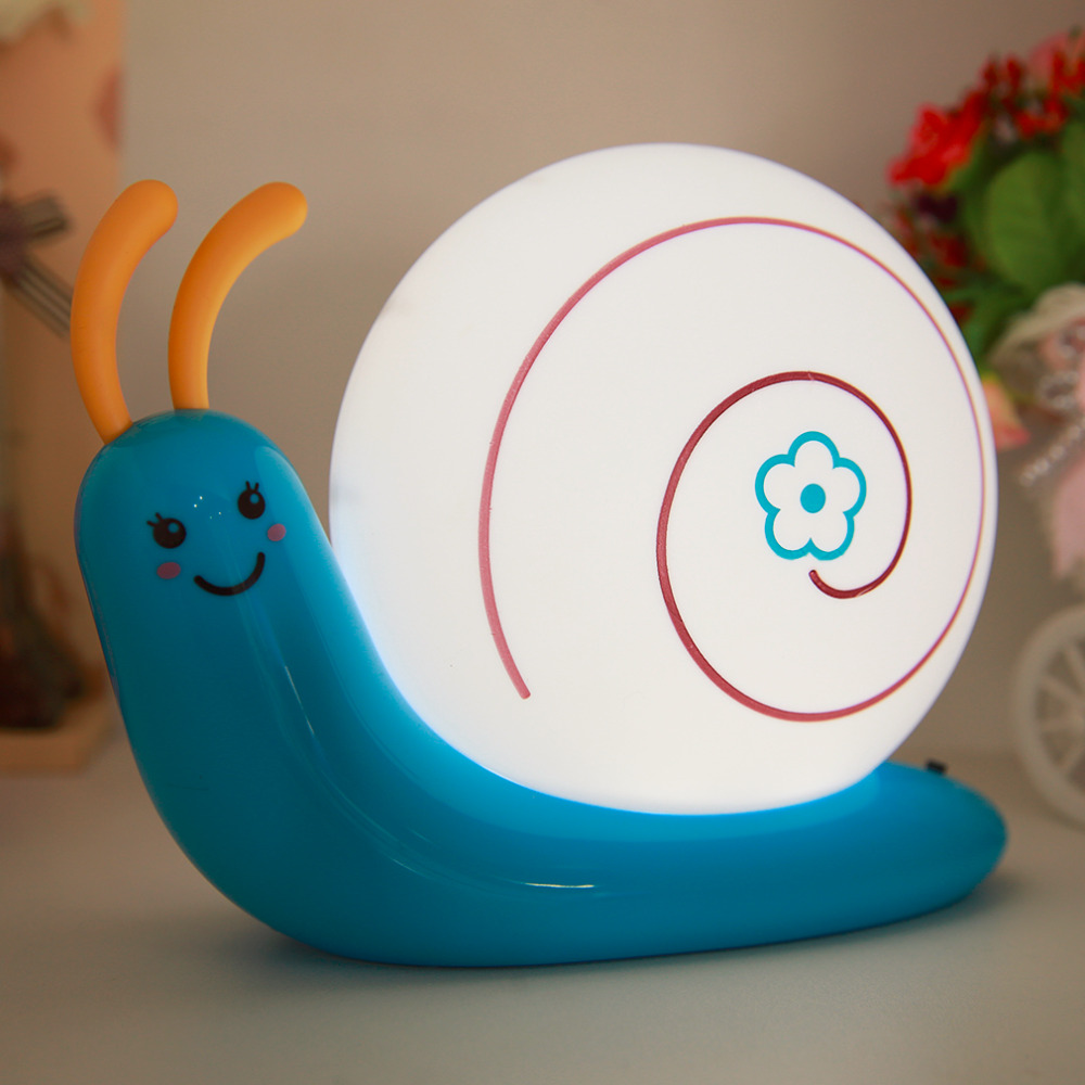 Quality Energy Efficient LED Protect Eye Desk Lamp USB Charge Snail shape Light 188*88*145mm