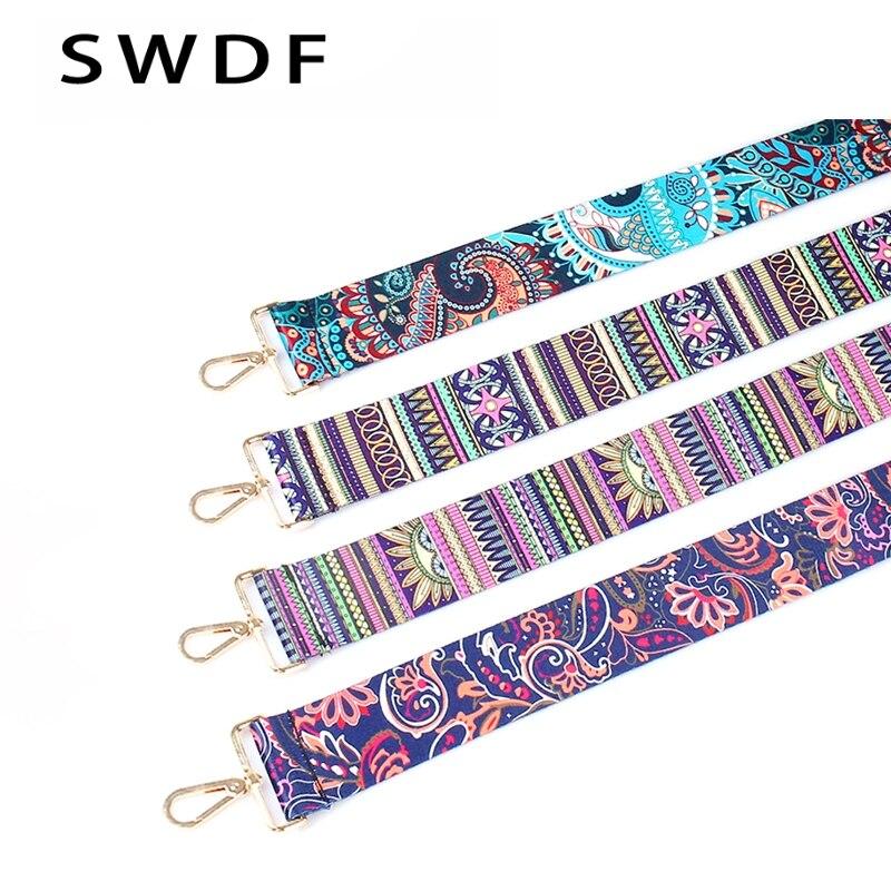 New 2018 Arrive Fashion Women Bag Shoulder Strap colorful Style Shoulder Straps Elegant Lengthened Shoulder Straps
