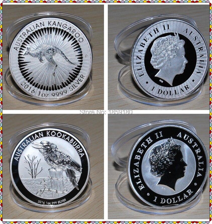Free Shipping 10pcs Lot 2016 Australian New Coin 1 Oz