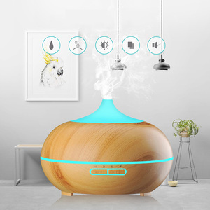 300ml elétrica purificador de ar difusor de óleo essencial aroma umidificador lâmpada aromaterapia aroma difusor névoa maker para decoração casa