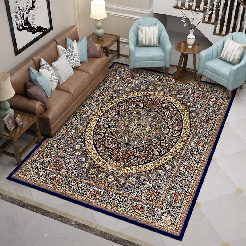 Iranian Carpets For Living Room Thick Polypropylene Bedroom Rug Home Sofa Coffee Table Floor Mat Study Room Rugs And Carpets