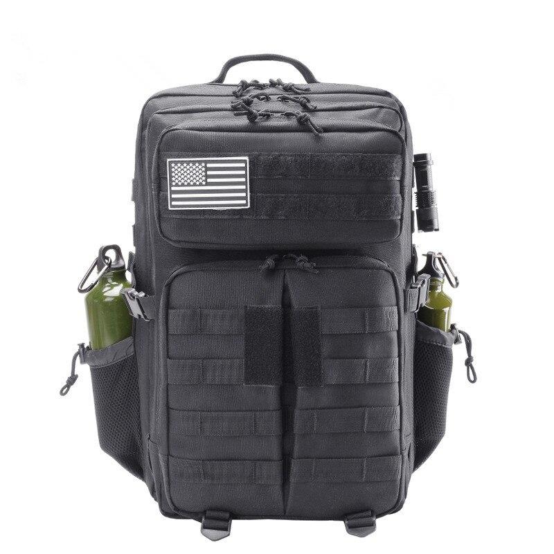 Plein air alpinisme chasse sport sac à dos tactique Camouflage sac Camping randonnée solide couleur multi-fonction grande capacité - 5