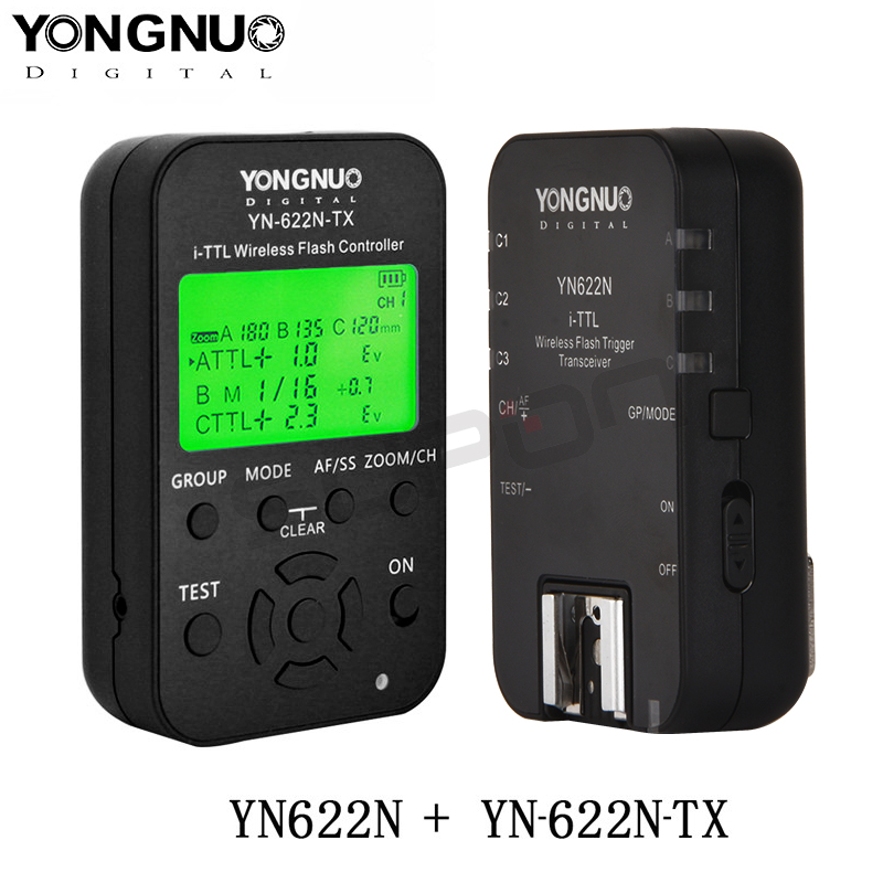 купить Yongnuo YN622N YN622N-TX i-TLL Wireless Flash Trigger Transceiver for Nikon Camera for Yongnuo YN565 YN568 Flash по цене 5038.61 рублей