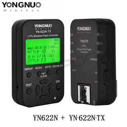 Yongnuo YN622N YN622N-TX i-TLL Wireless Flash Trigger Transceiver for Nikon Camera for Yongnuo YN565 YN568 Flash