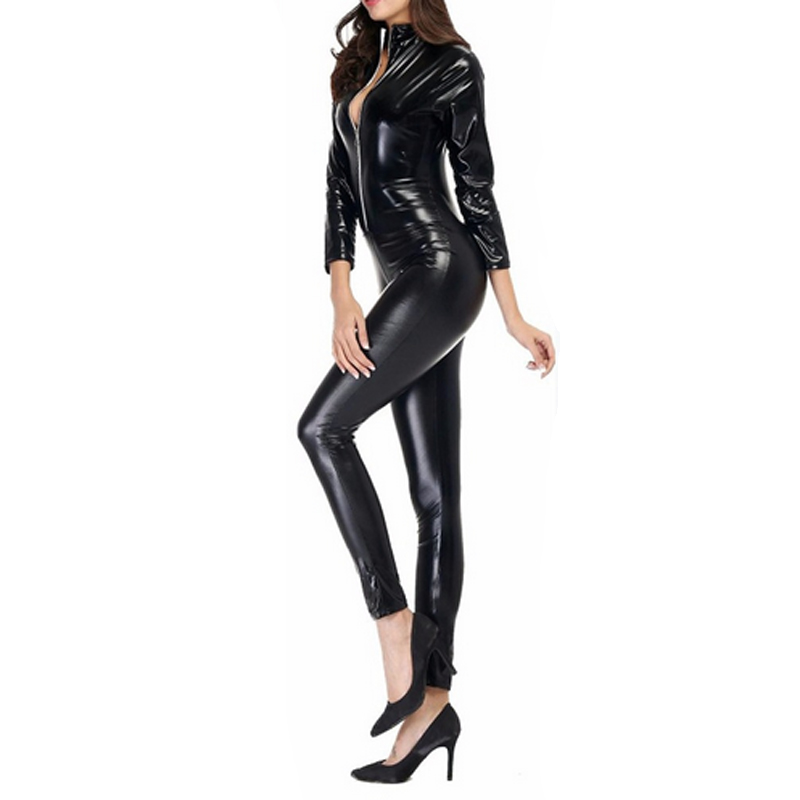 6f03e2a6c91 2019 Ensnovo Women Lycra Spandex Nylon Shiny Metallic 3 4 Long ...
