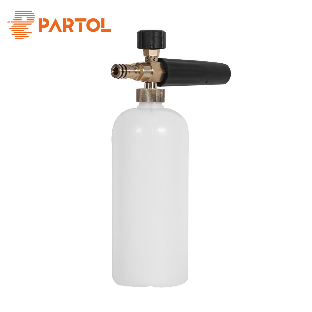Partol Car Foamer Wash Bottle Washer Supplies Water Gun Tube Snow Foam Lance Maintenance Tool with 12mm Adapter Adjust
