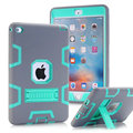 For iPad mini 12/3/4 Kids Baby Safe Armor Shockproof Heavy Duty Silicone Hard holder Case Cover Screen Protector Film+Stylus Pen