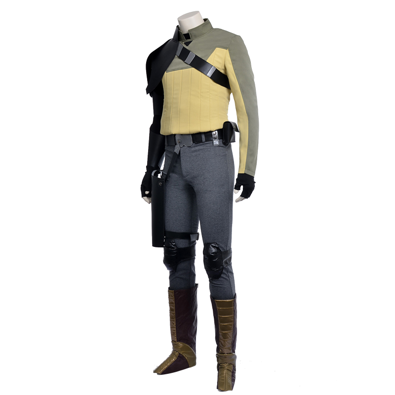 Star Wars Rebels Cosplay Costume Kanan Cosplay Star Wars Costume Halloween Canival Party Men Costume  Fast Shipping