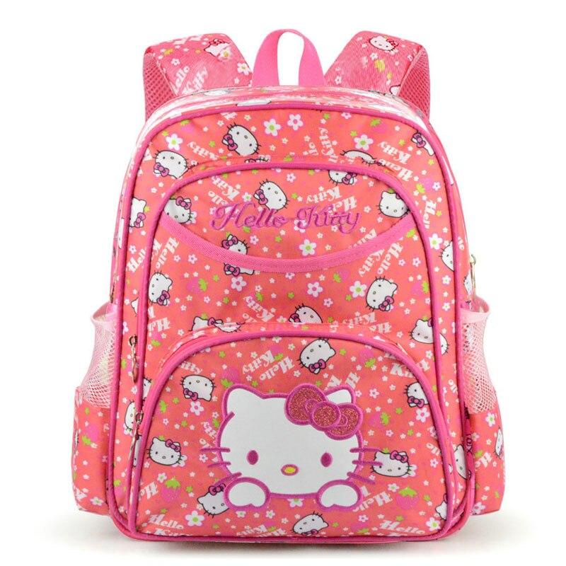 Hello Kitty kids bag School Backpacks for Girls Kids Satchel Children School Bags For Kindergarten Mochila Escolar Rucksacks