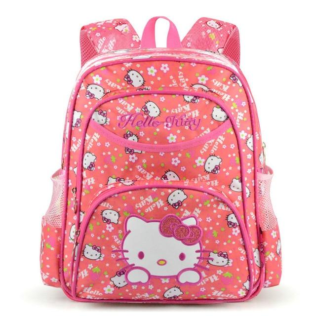 comprar baratas 5d1a5 ff566 € 9.54 45% de DESCUENTO|Aliexpress.com: Comprar Mochila Escolar Hello Kitty  para niños, Mochila para niñas, Mochila para niños, mochilas escolares ...
