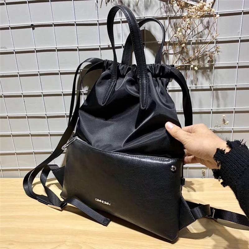 HEBA-Drawstring Backpack String Bag Waterproof Sackpack Cinch Sack Gymsack