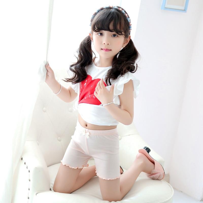 2018 Baby Girls Safety Short Pants Underwear Leggings Girls boxer briefs short pants for Children in Shorts from Mother Kids