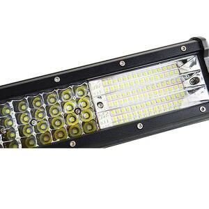 Image 2 - 10D Quad שורות 4   36 אינץ LED בר LED אור בר לרכב טרקטור סירת OffRoad מכביש 4WD 4x4 משאית SUV טרקטורונים נהיגה 12V 24V