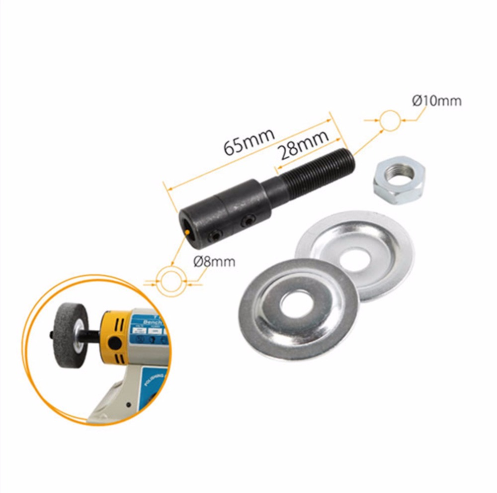 8MM polishing machine chuck replace spindle bearing for table mill axle 1pc white or green polishing paste wax polishing compounds for high lustre finishing on steels hard metals durale quality