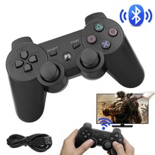 20 PCS Wireless Bluetooth Joystick For PS3 Controller Wireless Console For Sony Playstation 3 Game Pad Switch Games Accessories gamepad wireless bluetooth joystick for ps3 controller wireless console for sony playstation 3 game pad switch games accessories