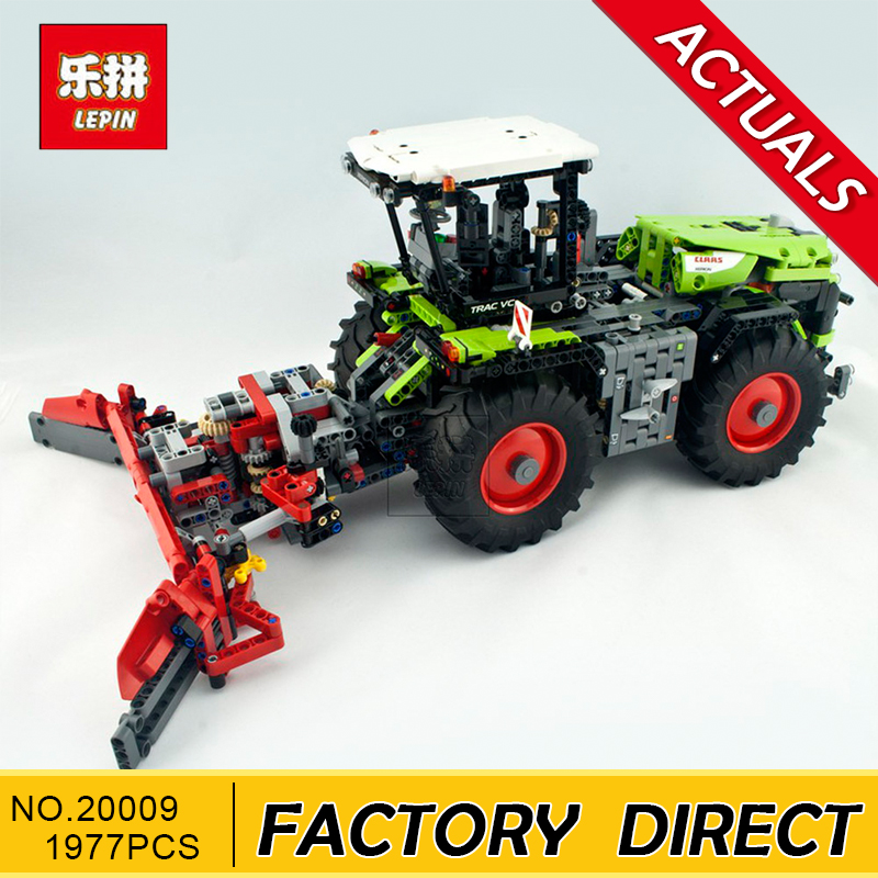 Lepin 20009 1977Pcs Technic Technic Claas Xerion 5000 Trac Vc Model Building Kit figures Blocks Brick Toy Gift compatible 42054