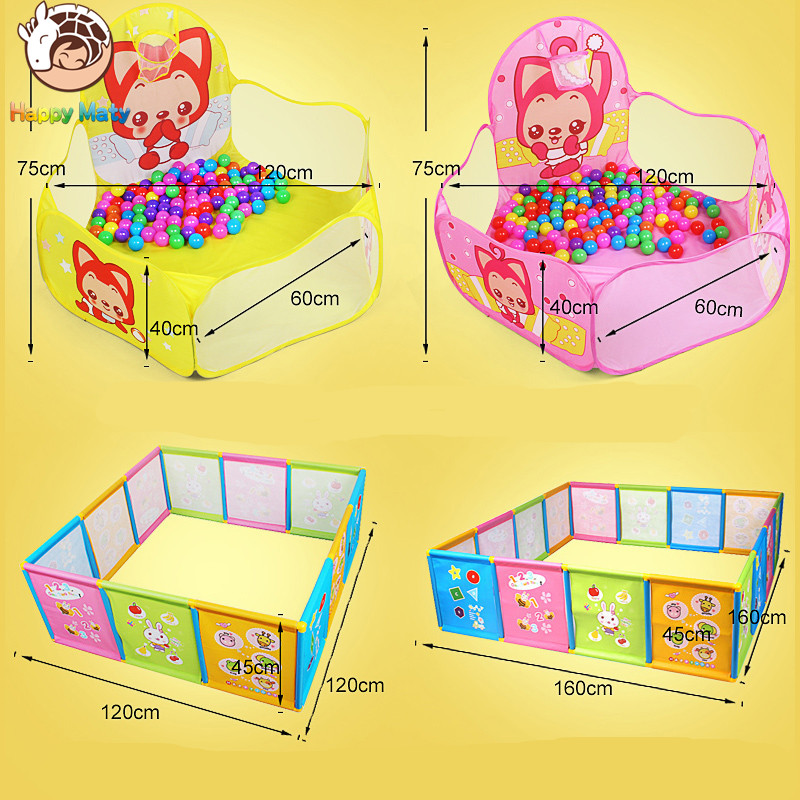 Play House Indoor and Outdoor Easy plegable Ocean Ball Pool Pit Game - Deportes y aire libre - foto 4