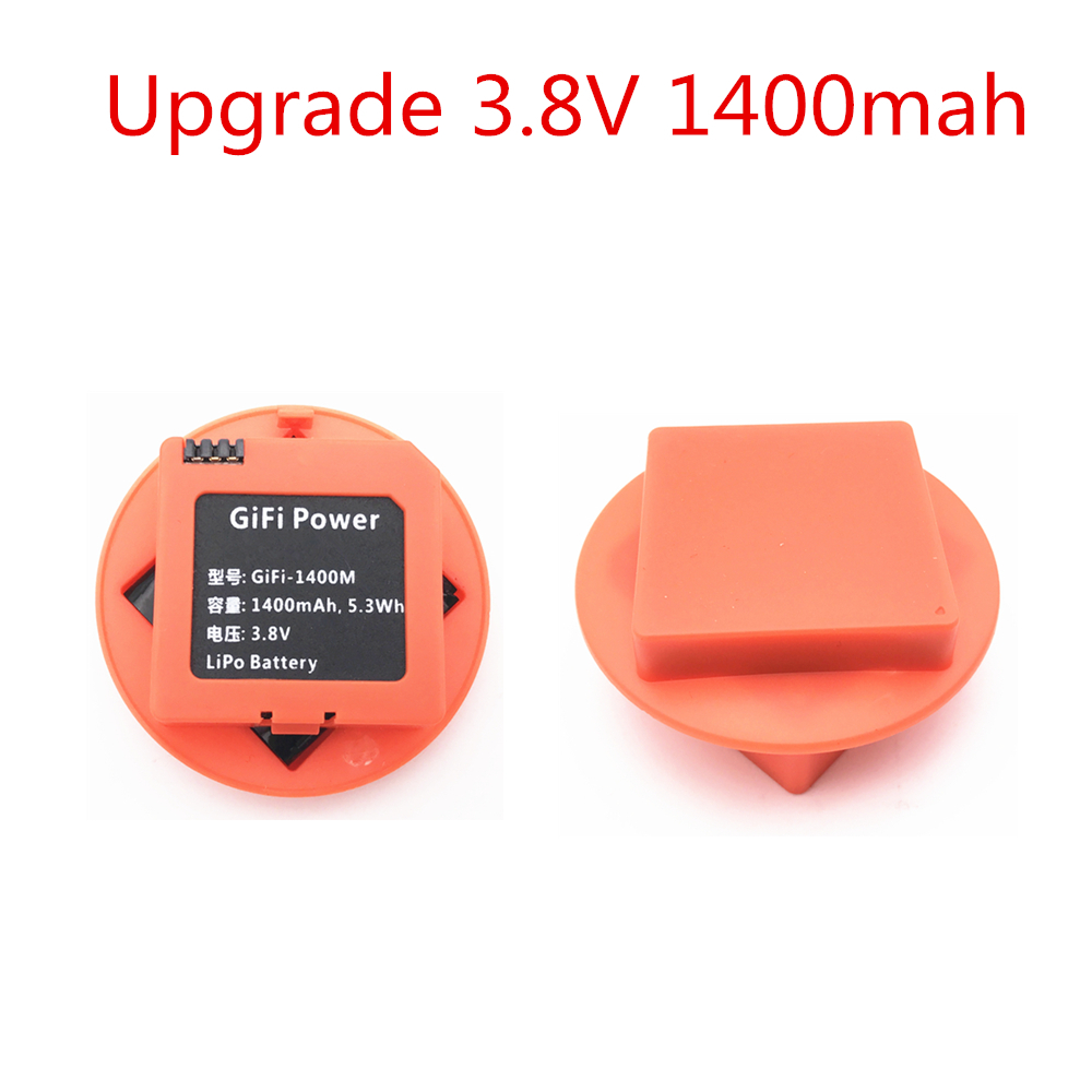 Upgrade 3.8v 1400Mah Li-po Rechargeable Battery For Xiaomi MiTu Quadcopter Drone Accessories High Quality 3-4 Minutes Fly