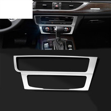 font b Car b font console panel Decorative trim air conditioning knobs decorative frame strips